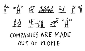 Companies are made out of people