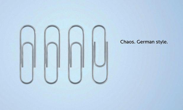 Chaos. German style.