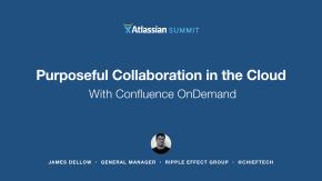Atlassian Summit 14 - James Dellow
