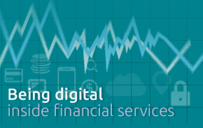 Feature image - Being digital in financial services - March 2015