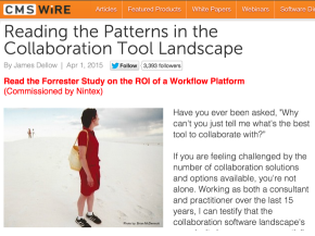 Reading the Patterns in the Collaboration Tool Landscape
