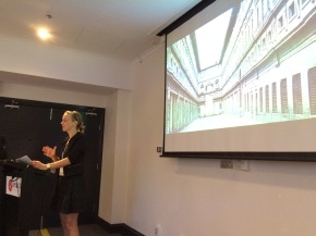 Ella Hafermalz at Ark Group's The Australian Government Workplace Design Strategy